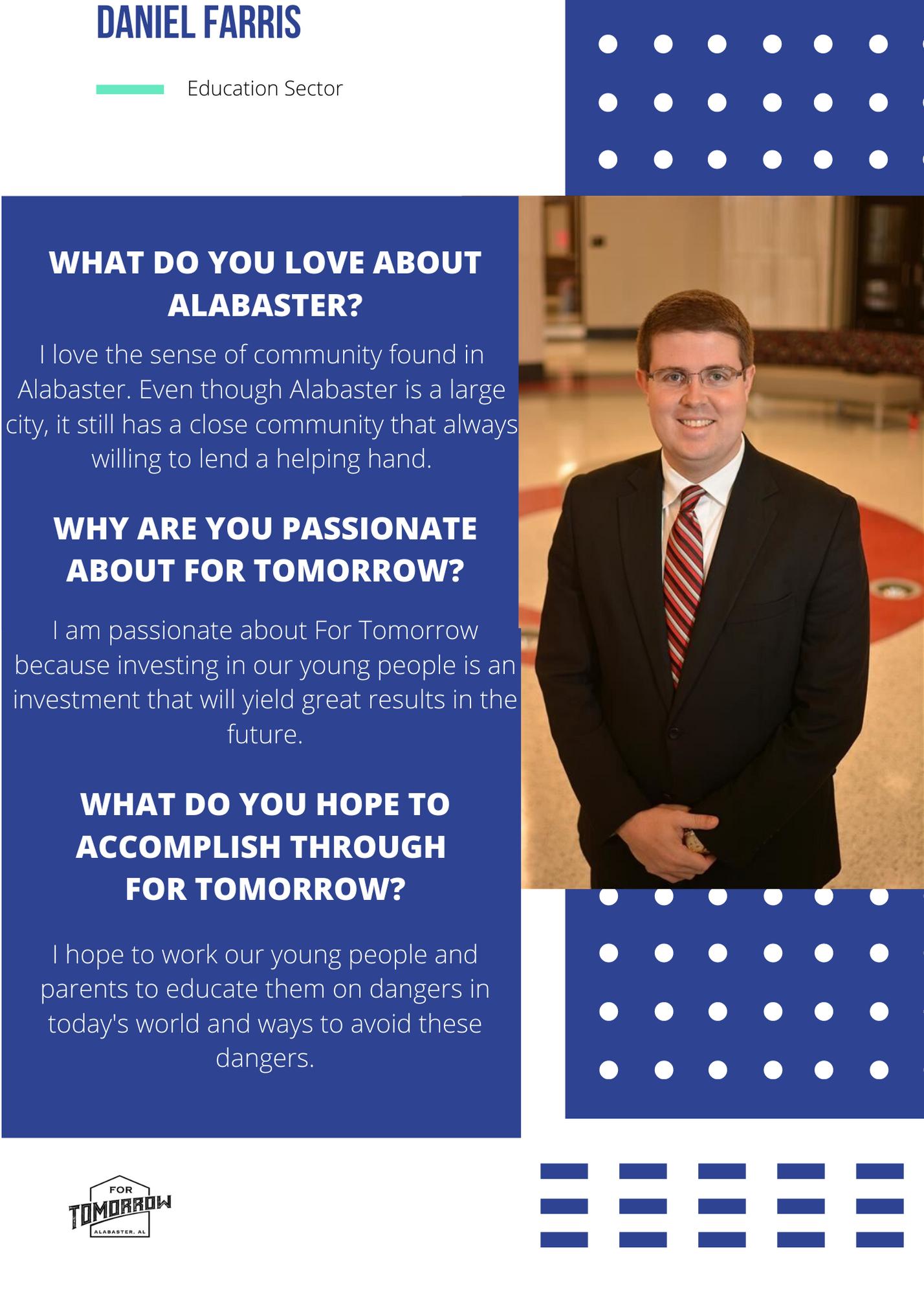 Volunteer Spotlight – Daniel Farris