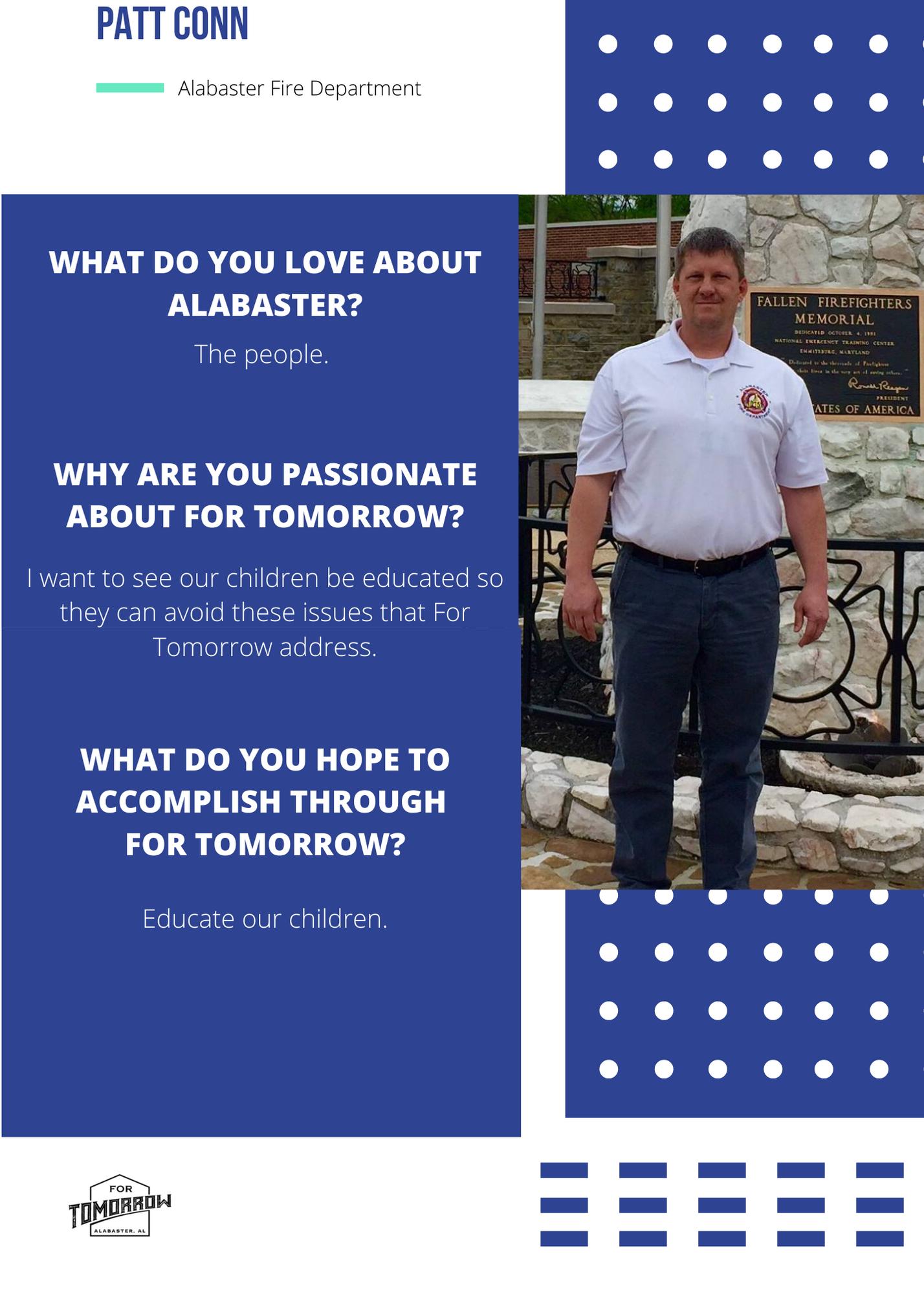 Volunteer Spotlight – Patt Conn